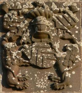 Armes et devises des Parcevaux - Chapelle de Tronjoly en Cléder